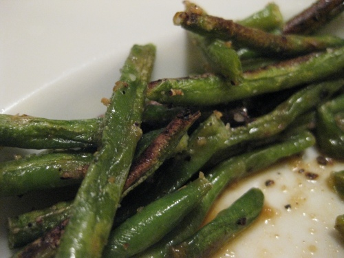 roasted haricot verts