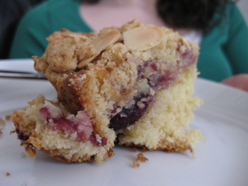 cherry coffee cake II