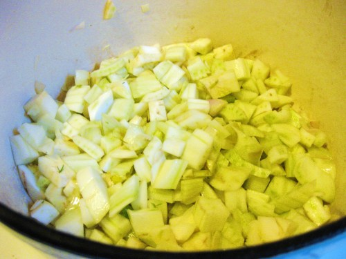 chopped fennel