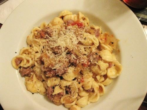 fennel sausage pasta