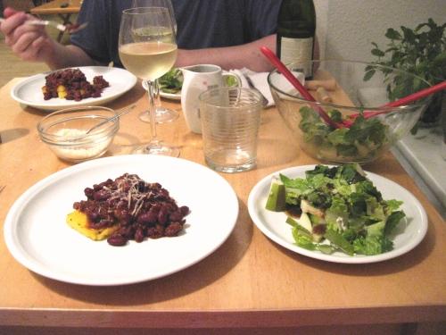 polenta con carne meal