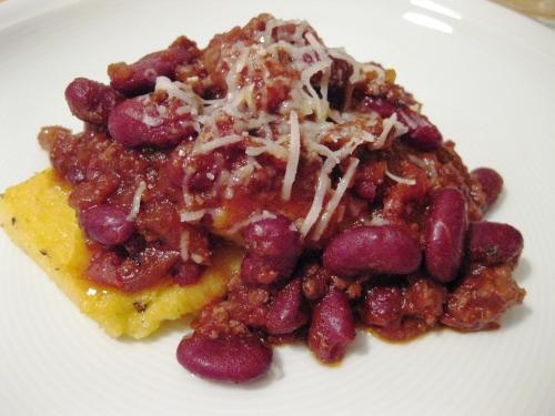 chili polenta