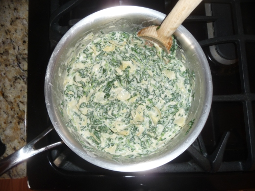 spinach dip cooking