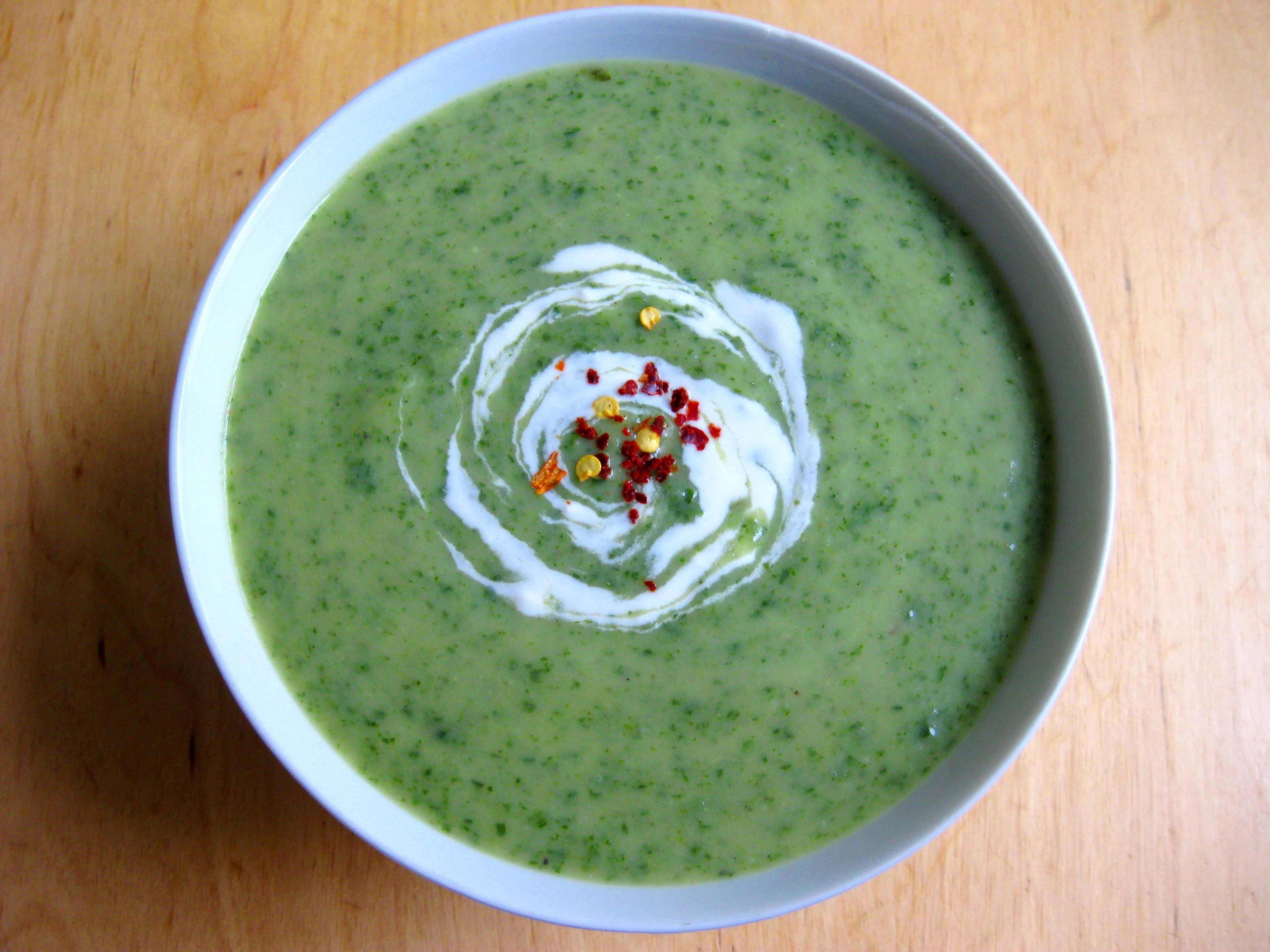 Cream Of Spinach Soup Recipe — Dishmaps