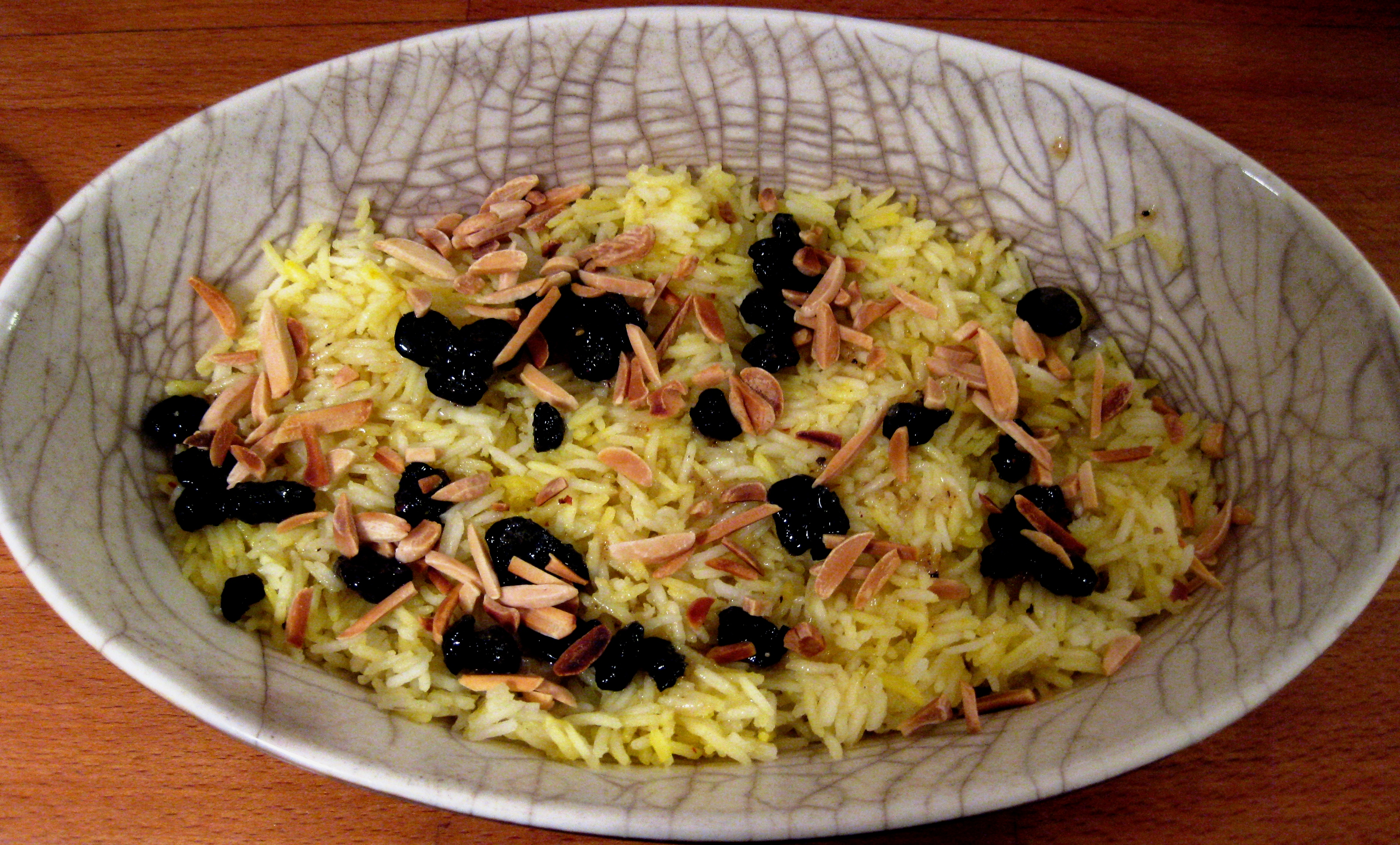 Persian Almond & Sour Cherry Rice Pilaf | Culinspiration: follow your ...