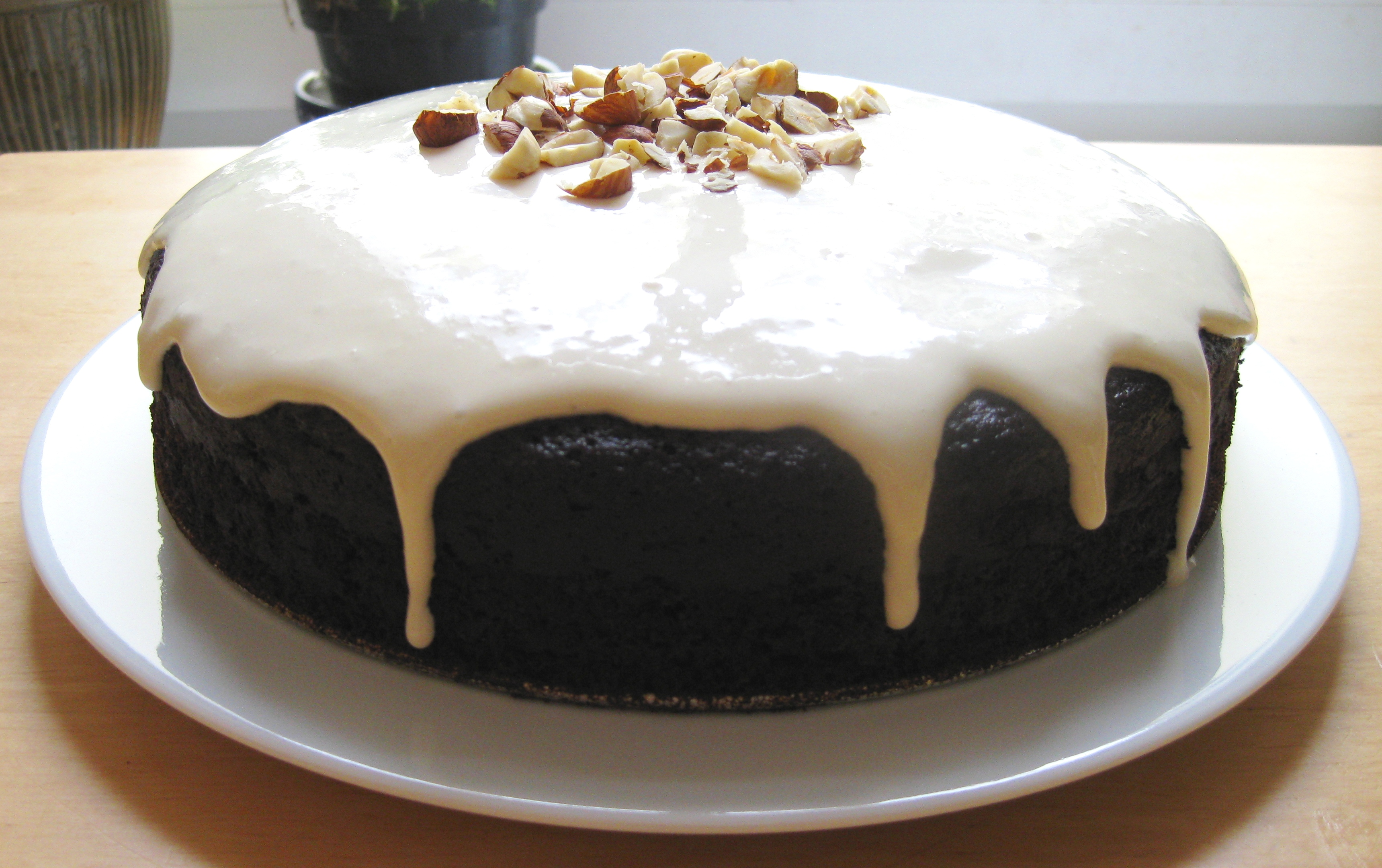 Guinness Chocolate Cake with Bailey's Cream Cheese Glaze ...