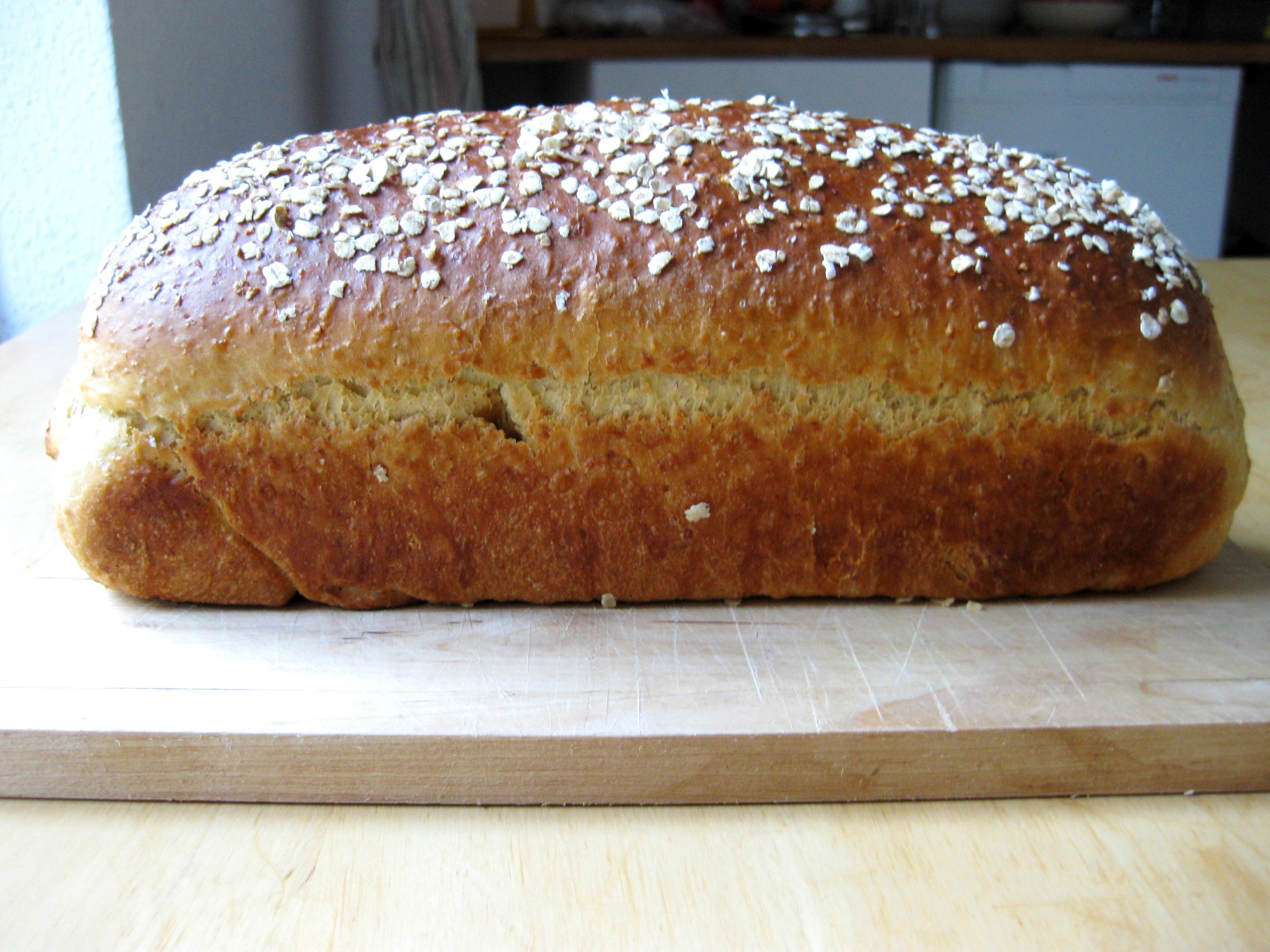 Honey Oatmeal Bread | Culinspiration: follow your tongue